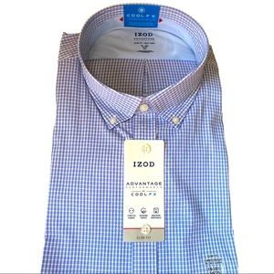 IZOD advantage performance slim for fit shirt